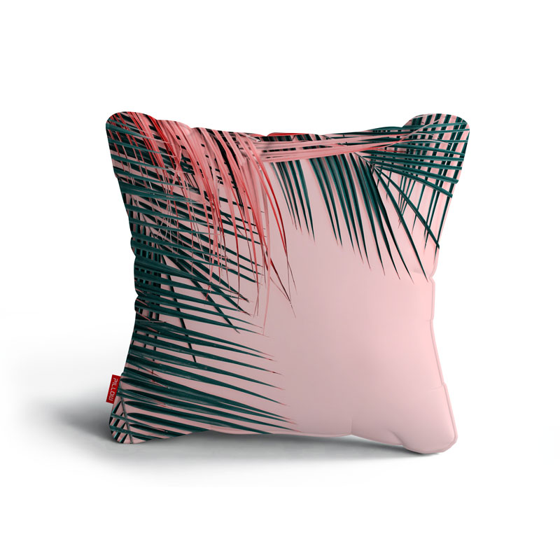 Kissen pink palm